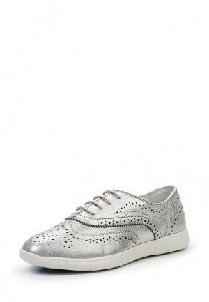 Ботинки Bata. Цвет: серебряный
