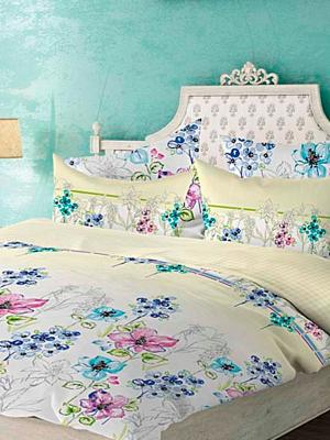 Комплект постельного белья Этюд Волшебная ночь. Цвет: белый