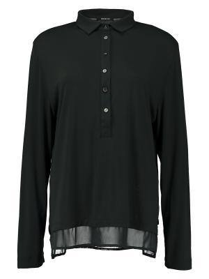 Блузка Elena Miro. Цвет: темно-зеленый