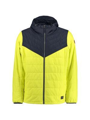 Куртка O'Neill. Цвет: желтый, синий