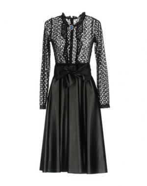 Платье до колена MARIUCCIA. Цвет: черный