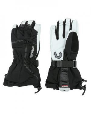 Лыжные перчатки  Offpiste level. Цвет: черно-белый