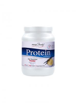 Белковая смесь Easy Body Protein (ваниль), 350г QNT. Цвет: белый