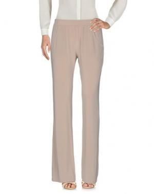 Повседневные брюки KANGRA CASHMERE. Цвет: бежевый