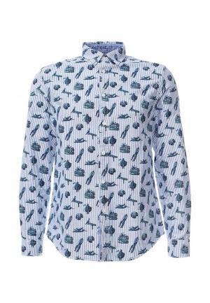Рубашка Desigual. Цвет: голубой