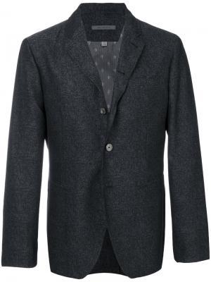 Classic blazer John Varvatos. Цвет: серый