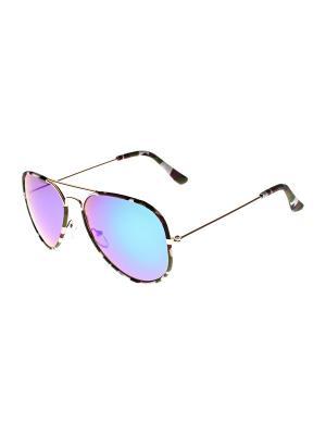 Солнцезащитные очки Olere. Цвет: золотистый, белый, синий, зеленый, коричневый