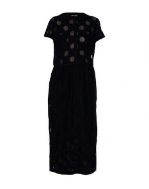 Длинное платье POUSTOVIT. Цвет: черный
