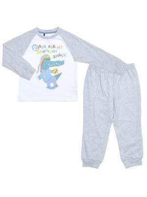 Пижама CHICCO. Цвет: голубой