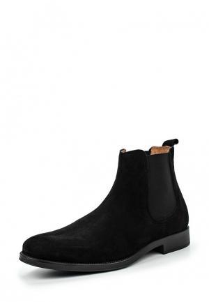 Ботинки Selected Homme. Цвет: черный