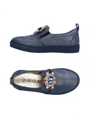 Низкие кеды и кроссовки QUIS. Цвет: пастельно-синий