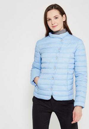 Куртка утепленная Zarina. Цвет: голубой