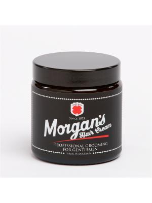 Крем для укладки волос, 120 мл MORGAN'S. Цвет: черный