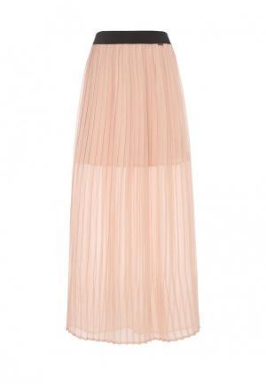 Юбка Liu Jo Jeans. Цвет: розовый