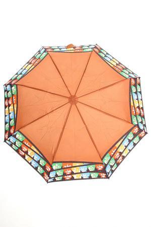 Зонт H.DUE.O. Цвет: коричневый