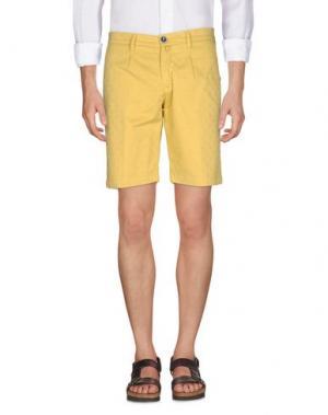 Бермуды BARBATI. Цвет: желтый