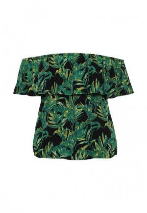 Блуза Modis. Цвет: зеленый
