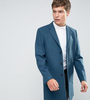 Number Eight Savile Row Пальто. Цвет: синий