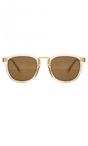 Солнцезащитные очки franklin KREWE du optic. Цвет: кремовый