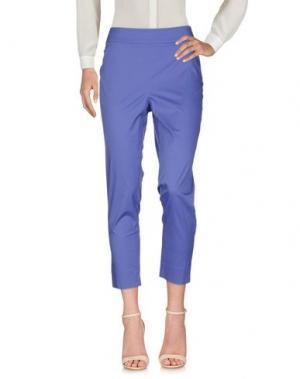 Повседневные брюки DEVERNOIS. Цвет: фиолетовый