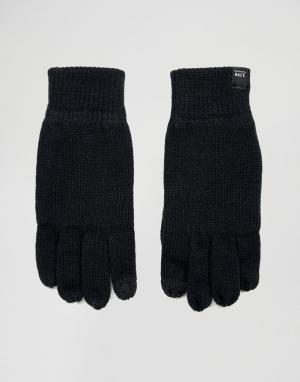 Jack & Jones Перчатки для сенсорного экрана. Цвет: черный
