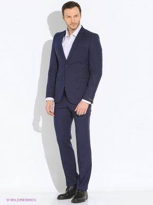 Мужской костюм Barkland. Цвет: синий