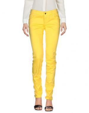 Повседневные брюки DIRK BIKKEMBERGS SPORT COUTURE. Цвет: желтый