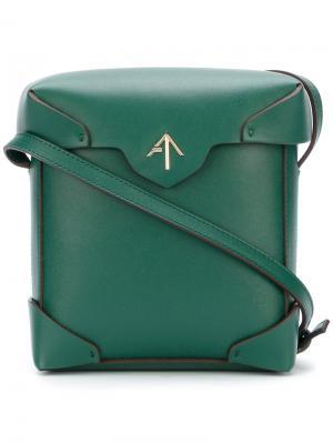 Сумка через плечо Manu Atelier. Цвет: зелёный