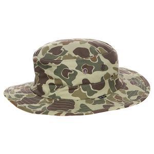 Шляпа  Duck Jungle Camo Olive Huf. Цвет: коричневый,зеленый