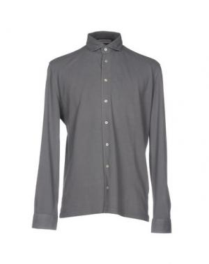 Pубашка LA FILERIA. Цвет: серый