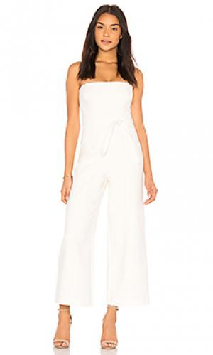 Пляжный костюм с широкими брюками isla LIKELY. Цвет: белый