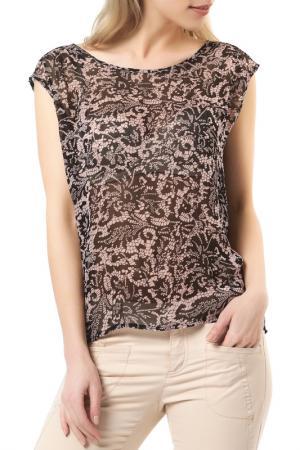 Блуза REPEAT. Цвет: бежевый