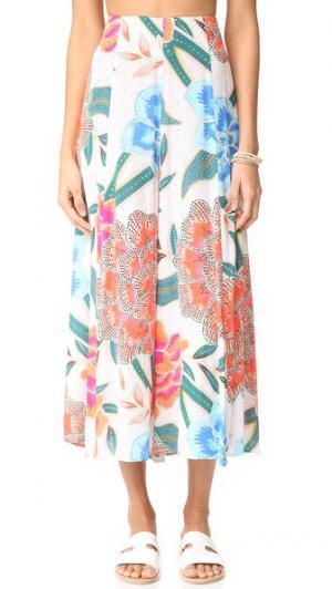 Легкая юбка-брюки Mara Hoffman. Цвет: аркадия коралловый