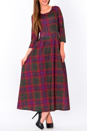 Платье S&A style. Цвет: мультиколор