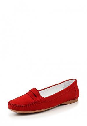Мокасины Wojas. Цвет: красный