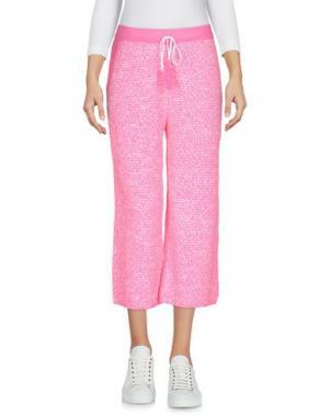 Повседневные брюки AKEP. Цвет: розовый