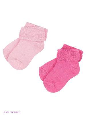 Носки 2 шт Janus. Цвет: розовый