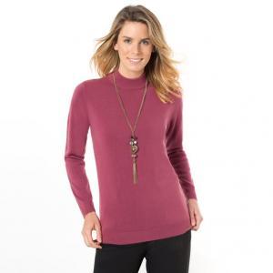 Пуловер ANNE WEYBURN. Цвет: красный мак,темно-синий,хаки,черный,экрю