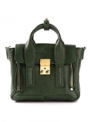 Мини сумка-сэтчел Pashli 3.1 Phillip Lim. Цвет: зелёный