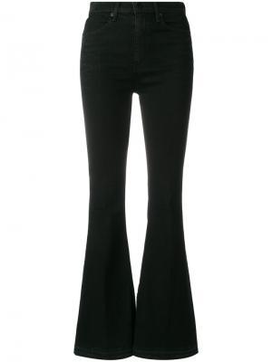 Расклешенные брюки Rag & Bone. Цвет: чёрный