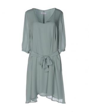 Платье до колена AXARA PARIS. Цвет: небесно-голубой