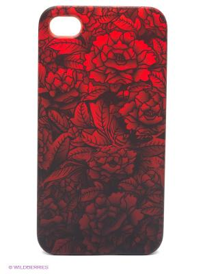 Чехол Kawaii Factory. Цвет: красный, черный, бордовый