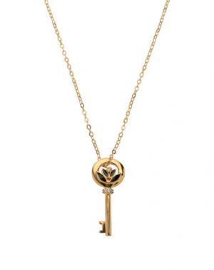 Ожерелье TED LAPIDUS. Цвет: золотистый