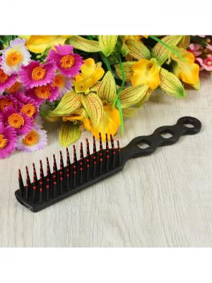 Расческа для волос Bizon. Цвет: черный
