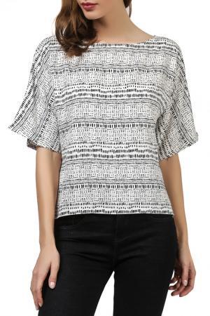 Блузка UNQ. Цвет: черный