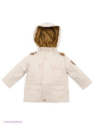 Куртка Senbodulun. Цвет: светло-бежевый, темно-коричневый