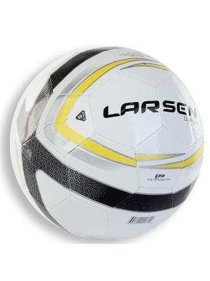 Мяч футбольный Duplex Larsen. Цвет: черный, белый, светло-желтый