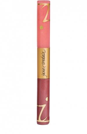 Блеск для губ с фиксатором Fascination Lip Fixation jane iredale. Цвет: бесцветный