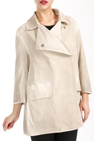 Куртка Salco. Цвет: бежевый