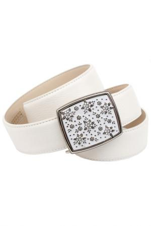 Belt Anthoni Crown. Цвет: white